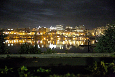 Victoria, BC by Moonlight