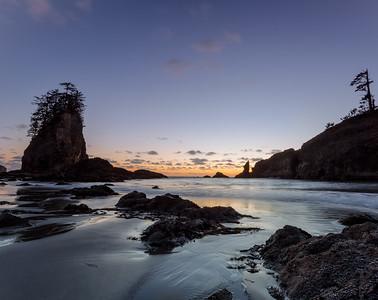 Silvery Sunset at 2nd Beach
