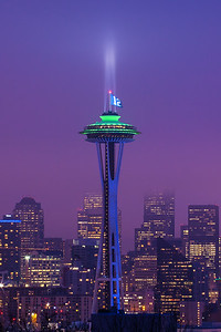 12th Man at the Space Needle
