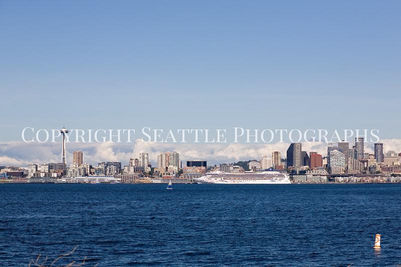 Seattle Waterfront from Alki Beach 101