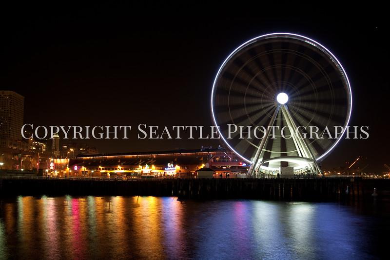 Seattle Waterfront Night 108