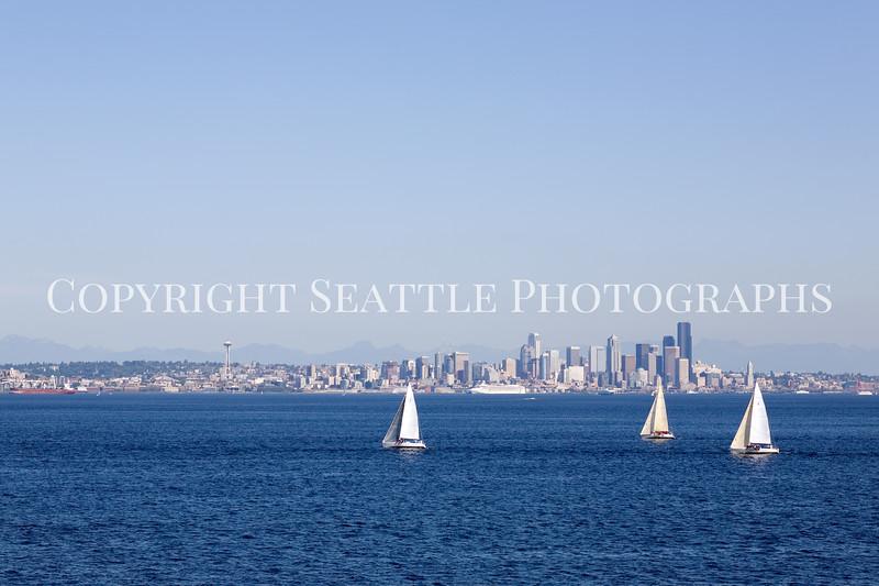 Seattle Waterfront Sailboats 112