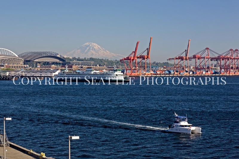 Seattle Waterfront Bell Street Pier 109