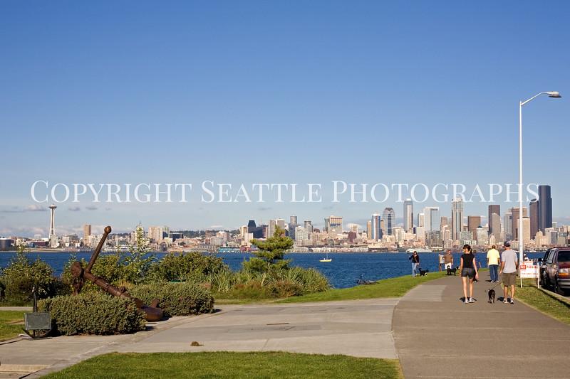 Seattle Waterfront from Alki Beach 121