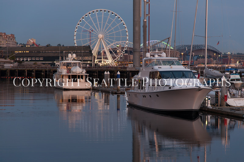 Seattle Waterfront Bell Street Pier 115
