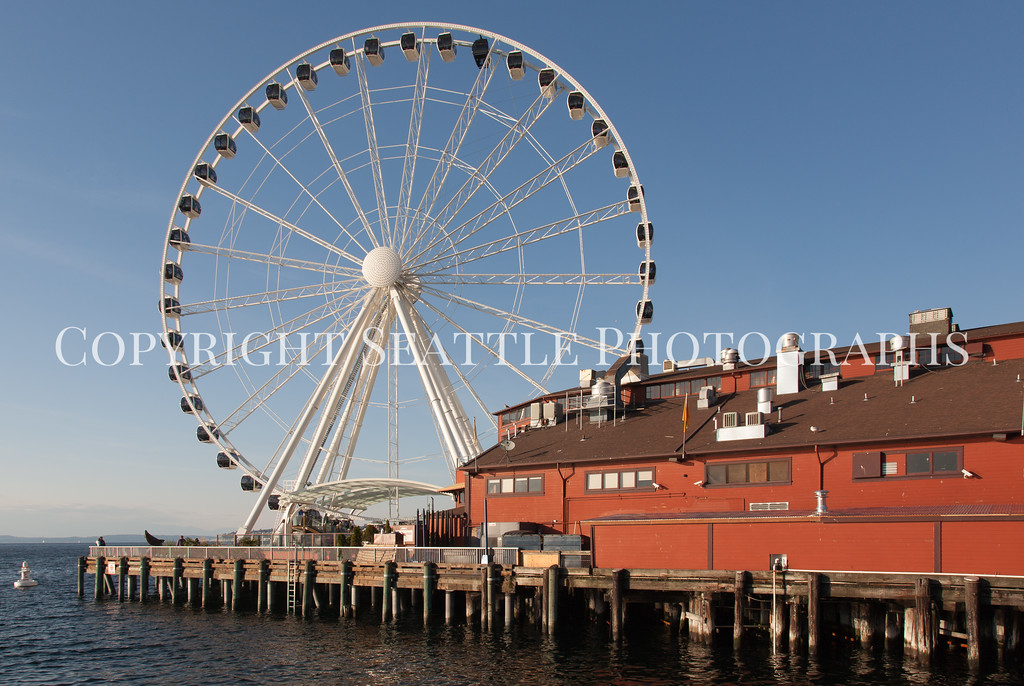 Seattle Waterfront Downtown 253