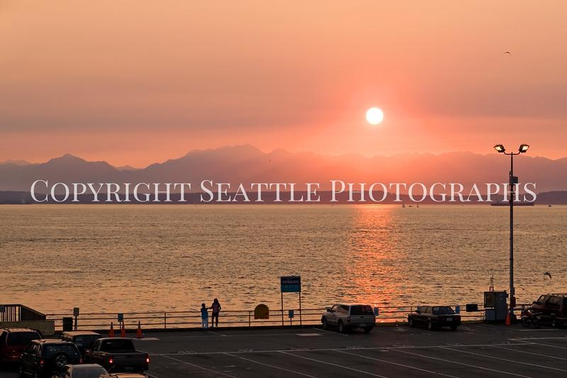 Seattle Waterfront Sunset 103