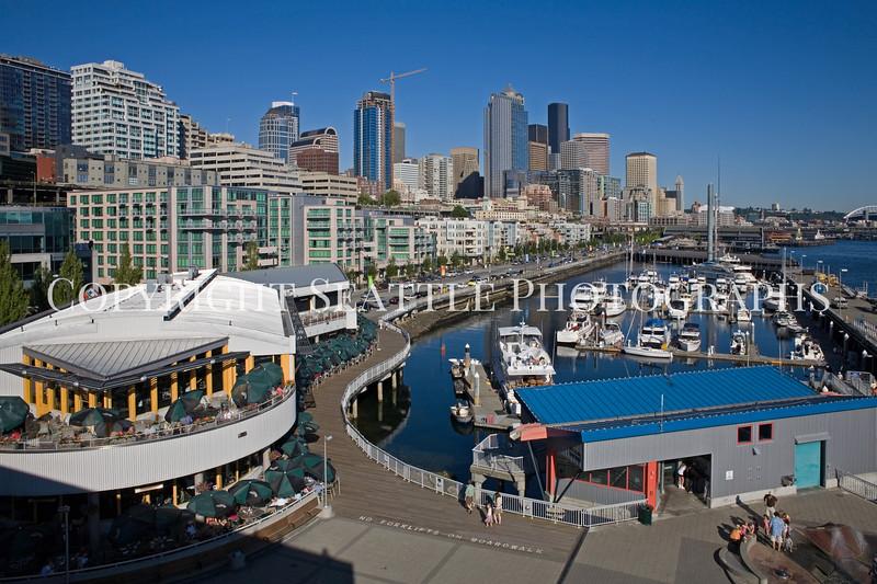 Seattle Waterfront Bell Street Pier 107