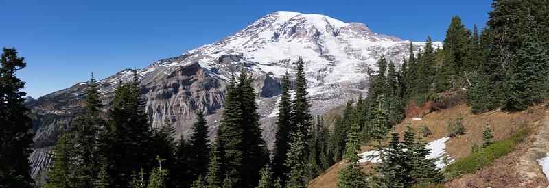 A Panorama of Mt Rainier