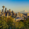 A Panorama of Downtown Seattle