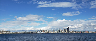 Seattle Skyline from Alki Point