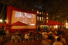 Outdoor movie, Occidental Park