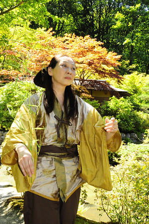 Japanese Garden and Butoh 8-4-12