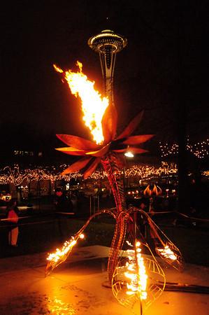Seattle Center - solstice celebration 2009