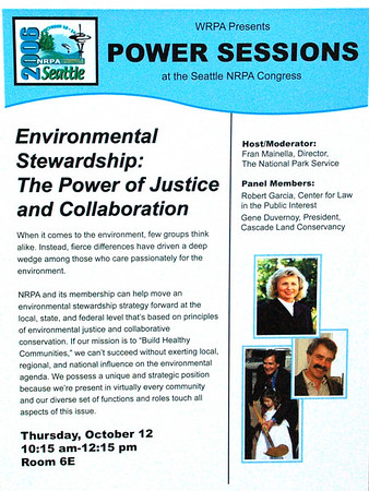NRPA: Environmental Stewardship: The Power of Justice and Collaboration