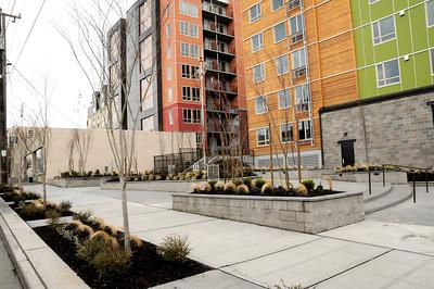 Ballard - privately owned (public?) open space near Market St.