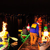 Very generous of these volunteer boaters on a very cold night!