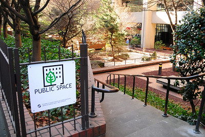 Downtown - privately owned public open spaces