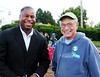 Seattle Parks deputy superintendent Christopher Williams and Abe Bergman