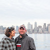 Heidi Marks from Wisconsin and her husband on their honeymoon; just happened to be on the pier.