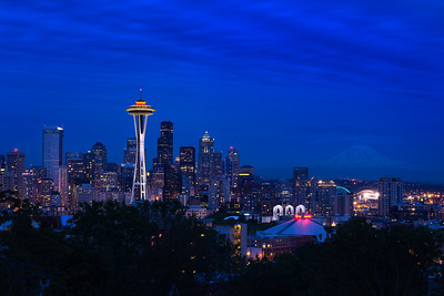 Space Needle Celebration Twilight II