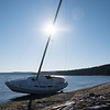 Sailboat, Abandoned