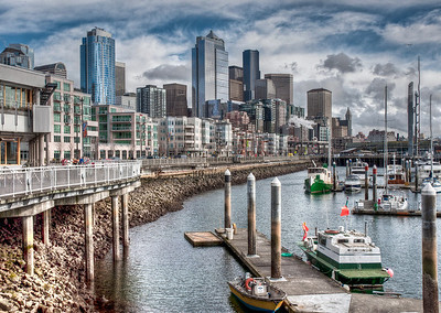 seattle-skyline-boats-waterfront