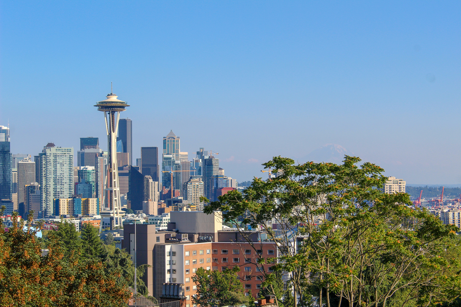 only 24 Hours in Seattle means you must go to kerry park