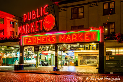 Pike Place Market by Night