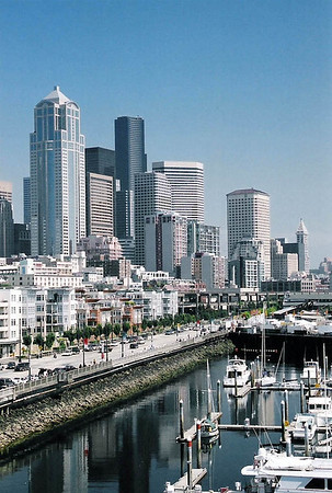Downtown Seattle, 2004