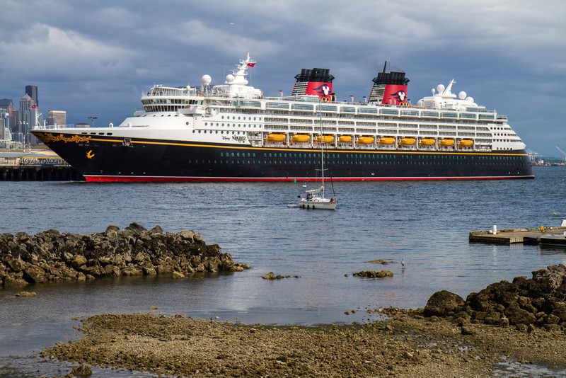 Disney Wonder in Smith Cove