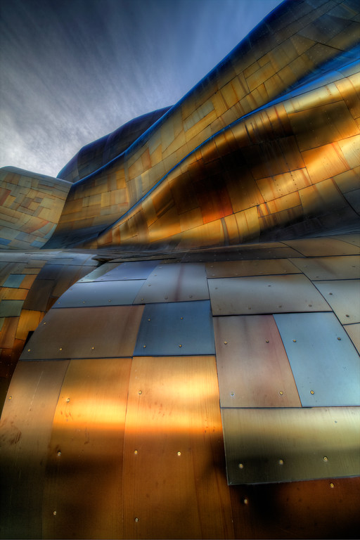 Experience Music Project, Frank Gehry architect