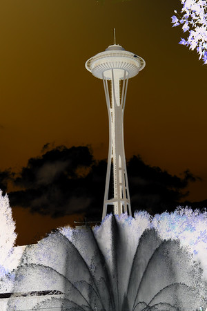 Space Needle  &  Fountain