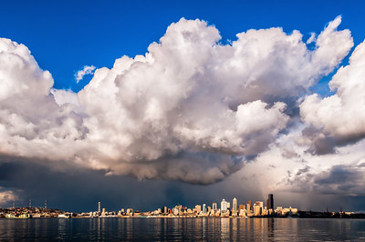 Clouds over Seattle