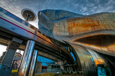 The Big Three in Seattle; Space Needle, EMP, and the Monorail