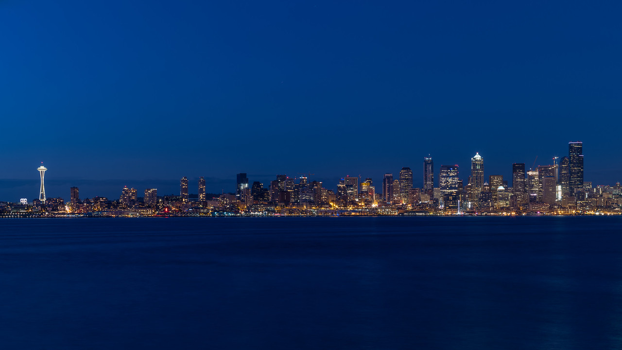 Seattle City Pano