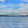 Mt. Rainier from Elliott Bay