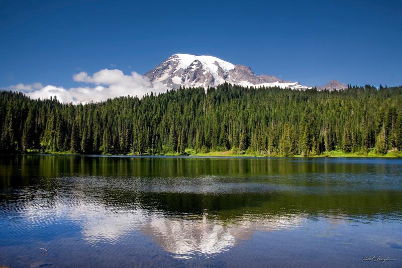 Mt. Rainier in Reflections  Lake