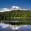 Mt. Rainier in Reflections  Lake