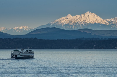 The Olympics & Puget Sound