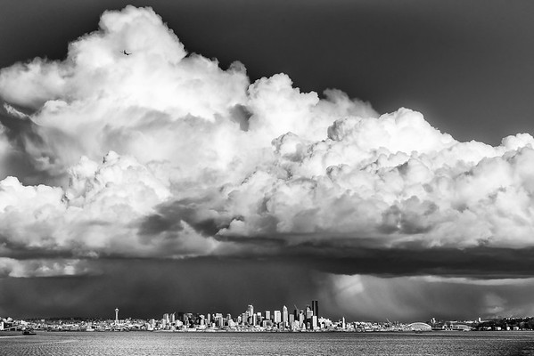 Storm Clouds Over Seattle