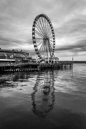 Seattle Reflections - The Great Wheel