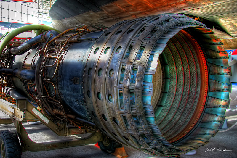 Pratt & Whitney Jet Engine (HDR)
