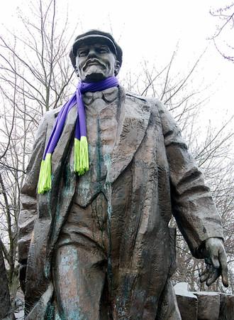 Lenin In a Scarf