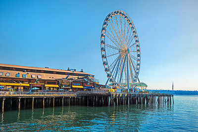 Ferris wheel, Seattle, Washington