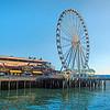 Ferris wheel, Seattle, Washington