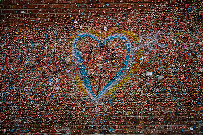 The Gum Wall, with Love