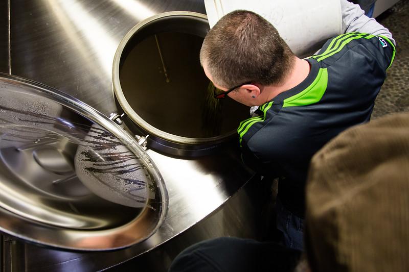 Brewing the Seattle Beer Week Beer 2014