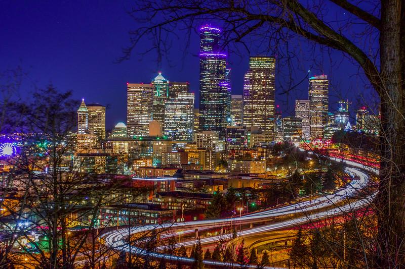 Enchanting Seattle Skyline