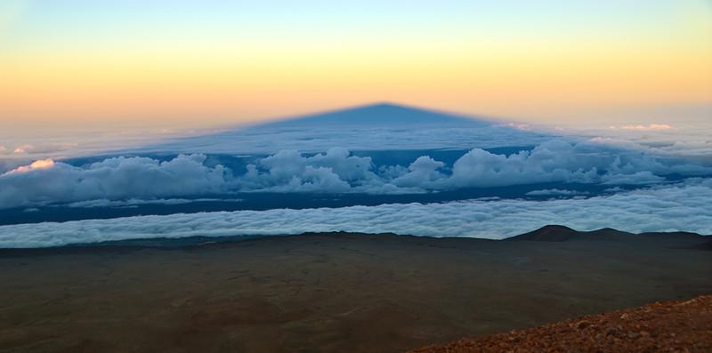 Shadow of Mauna Kea, Big Island, Hawaii<br /> <br /> Photographer's Name: Mike Warren